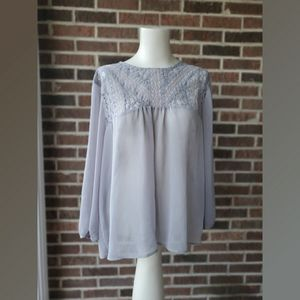 Maurice's Lace Trimmed Top